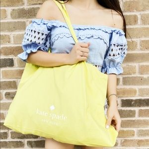 SALE‼️👜💕Kate Spade gift yellow tote